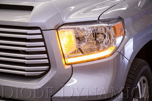 2014-2017 Toyota Tundra Standard Headlight Switchback LED DRL Boards
