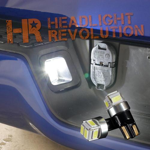 2009 - 2018 Dodge Ram LED License Plate Lights Bulb Upgrade (2 Bulbs)