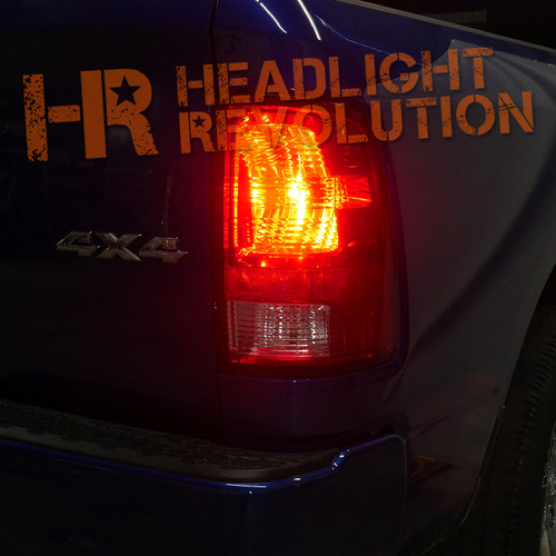 2009 - 2018 Dodge Ram LED Tail Light and Rear Turn Signal Bulb Upgrade