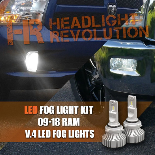 LED fog light bulbs for the Ram truck