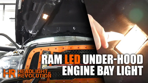 2009 - 2017 Dodge Ram LED Under Hood Light Bulb Upgrade