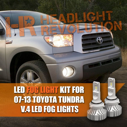 LED fog light bulbs for the Tundra