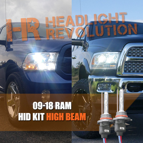 2009 - 2018 Ram HID Headlights Upgrade