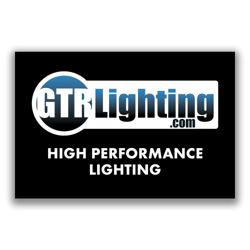 GTR Lighting Logo 6' Vinyl Shop Banner