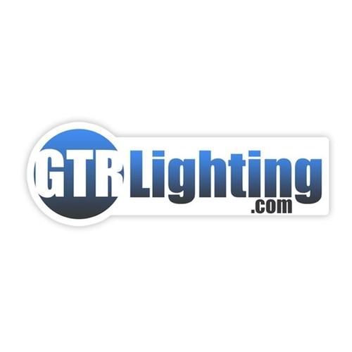 "GTR Lighting Logo Sticker 5"""