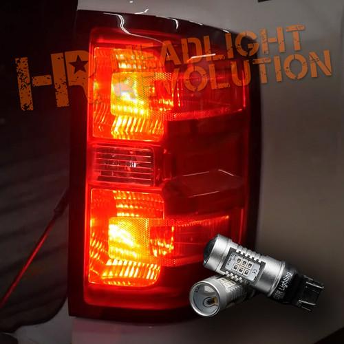 2014-2015  Chevy Silverado LED Rear Turn Signal and Brake Bulbs Kit (4 Bulbs)