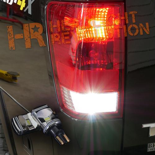 2003 - 2018 Nissan Titan LED Reverse Light Bulb Upgrade