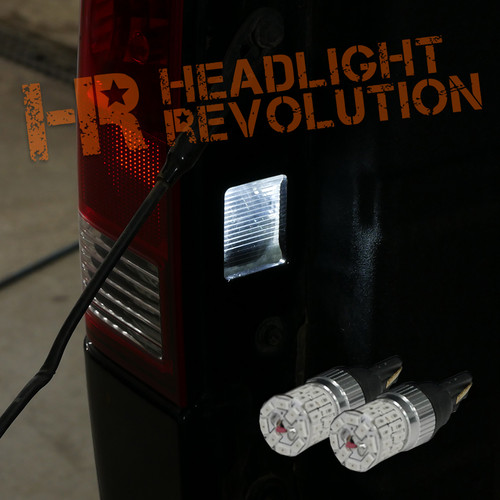 2003 - 2015 Nissan Titan LED Lower Cargo Light Bulb Upgrade - Inside Tail Lights