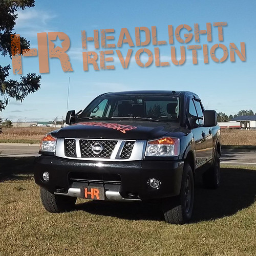 2003 - 2015 Nissan Titan LED Front Side Marker Bulb Upgrade