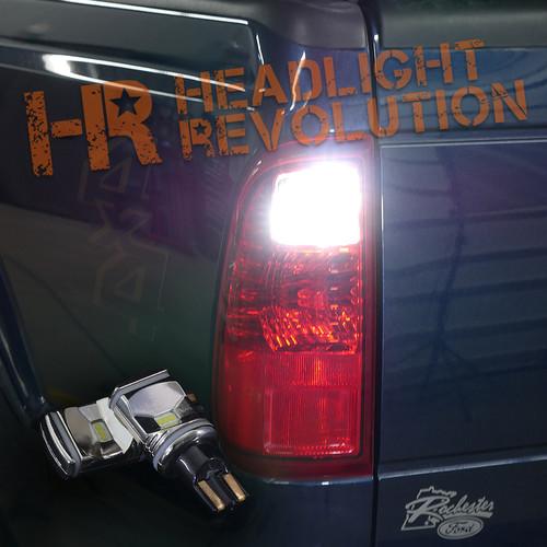 2010-2016 Ford Super Duty LED Reverse Light Bulb Upgrade