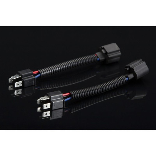 Headlight Revolution H13 Female into H4 Male Headlight Wire Adapters