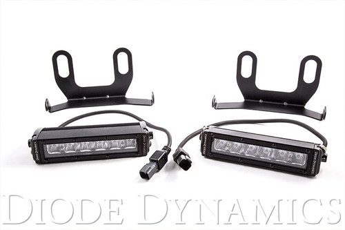 Diode Dynamics 2013+ Ram Standard White Wide LED Driving Light Kit