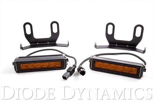 Diode Dynamics 2013+ Ram Standard Amber LED Driving Light Kit