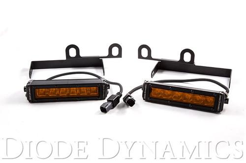 Diode Dynamics 2013+ Ram Sport/Express Amber LED Wide Driving Light Kit