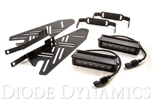2017+ Ford Raptor SS6 LED Fog Lightbar Kit