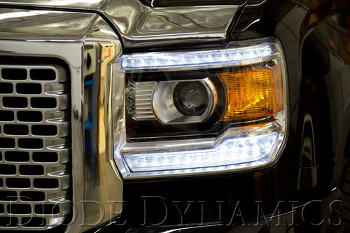 Diode Dynamics 2014-2015 GMC Sierra Multicolor DRL LED Boards
