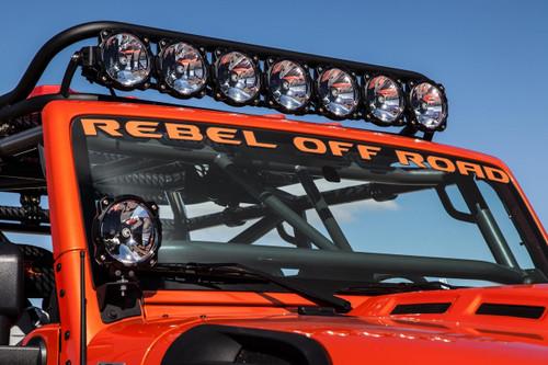 """Gravity LED Pro6 Light Bar (Jeep JK 50""""/8-Ring)"""