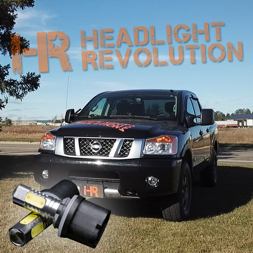 2003 - 2015 Nissan Titan LED Fog Light Bulbs - LVL 1 Lightning Series