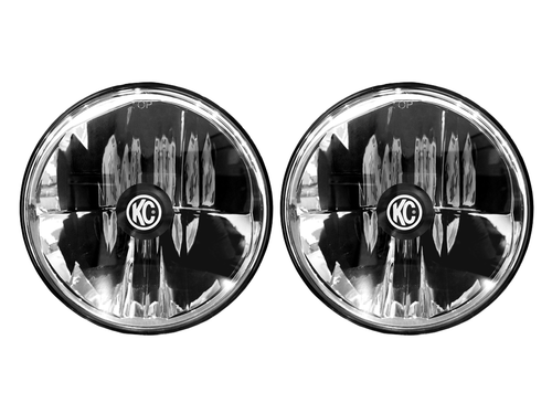 "KC HiLiTES  GRAVITY® LED 7"" HEADLIGHT DOT JEEP JK 2007-2018 HEADLIGHT PAIR PACK SYSTEM"
