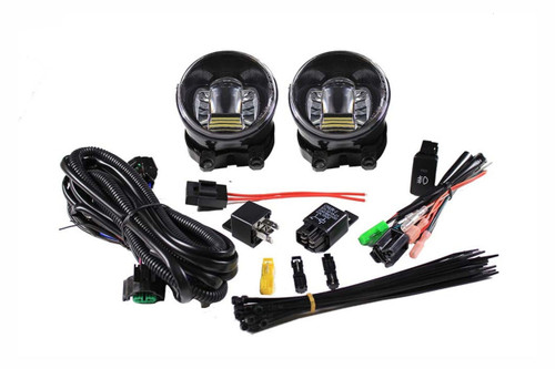 2012 - 2015 Toyota Tacoma LED Projector Fog Light Kit