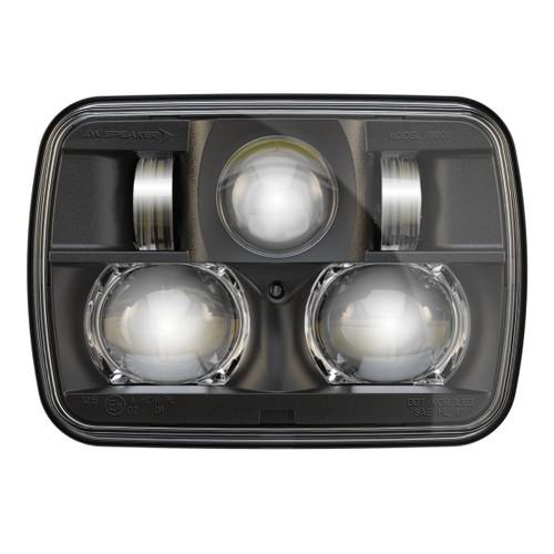 "JW Speaker 8900 Evolution 2 Dual Beam 5"" x 7"" Black Headlight"