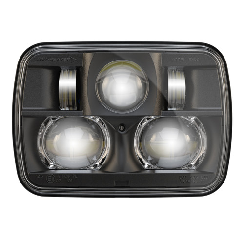 "JW Speaker 8900 Evolution 2 Dual Beam 5"" x 7"" Black Headlight"