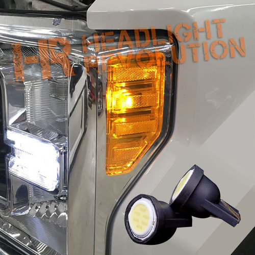2017+ Ford F250 F350 Super Duty LED  Side Marker Bulbs Upgrade Kit