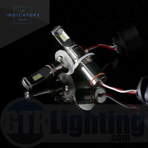 GTR Lighting Fog / DRL Ultra Series 800/880 LED Bulbs