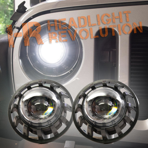 Morimoto 2007-2017 Wrangler Super7 Bi-LED Headlight Kit