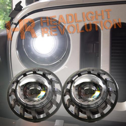 Morimoto 1996-2006 Wrangler Super7 Bi-LED Headlight Kit