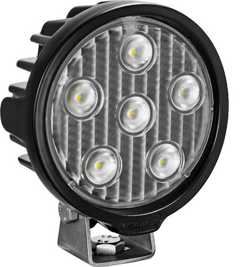 Vision X 4.3″ VL-SERIES Light Duty Commercial Work Light - Round 6 LED