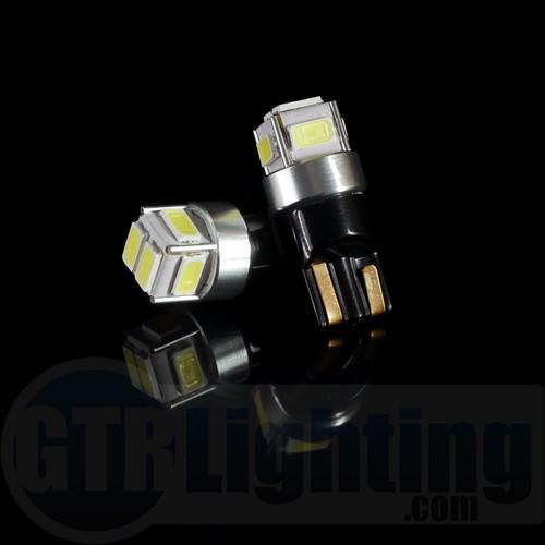 GTR Lighting T10 / 194 / 168 CANBUS LED Bulbs