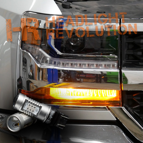 2016-2018 Chevy Silverado 1500 LED Front Turn Signal Kit