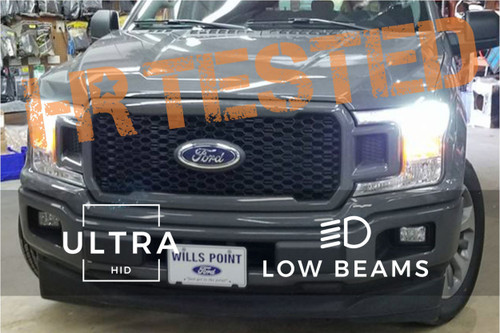 2018+ Ford F-150 Ultra HID Kit (Low Beam)
