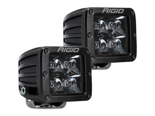 Rigid Industries 202213BLK D-Series PRO | Spot Midnight Edition