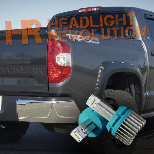2014 - 2018 Toyota Tundra LED Reverse Bulbs Upgrade - 1000 Lumen