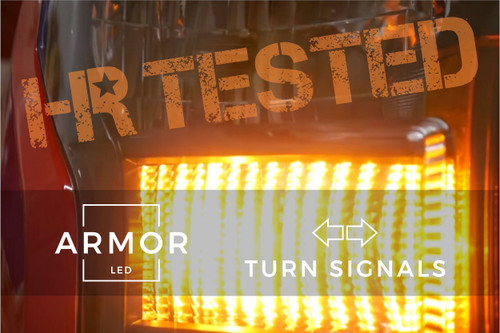 2015 - 2017 Ford F-150 Armor LED Turn Signals (Switchback)