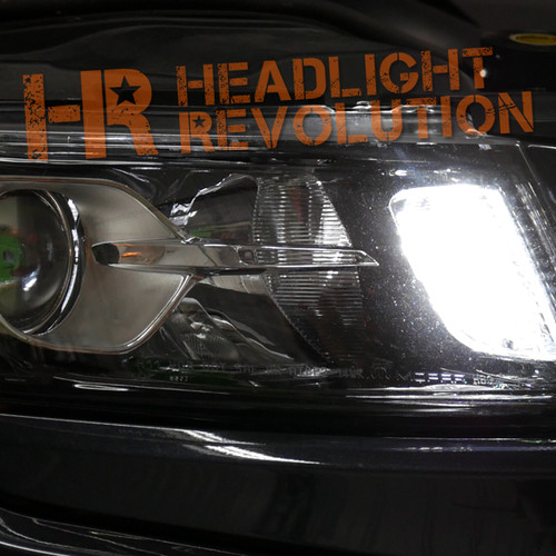 2011 - 2018 Jeep Grand Cherokee LED Front Turn Signal Conversion Kit