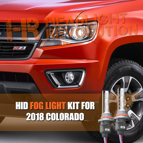 2015 - 2018 Chevy Colorado HID Fog Light Conversion Kit