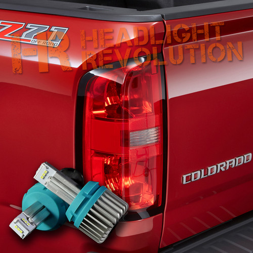 2015 - 2018 Chevy Colorado LED Reverse Lights  Bulb Upgrade - 1000 Lumen