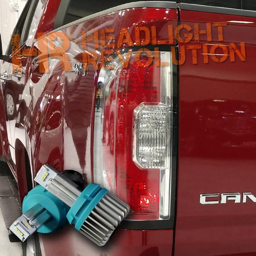 2015 - 2018 GMC Canyon / Canyon Denali LED Reverse Lights  Bulb Upgrade - 1000 Lumen