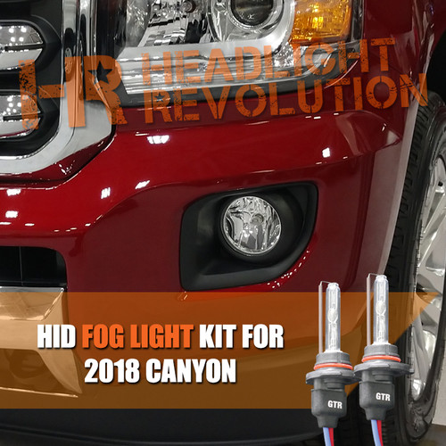 2015 - 2018 GMC Canyon / Canyon Denali HID Fog Light Conversion Kit