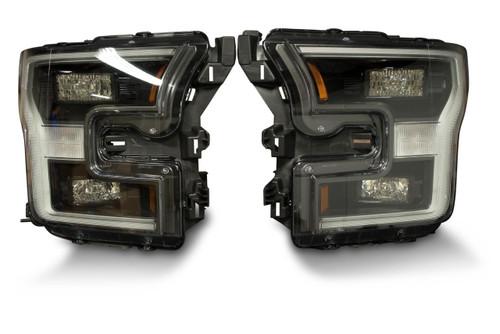 2015 - 2017 Ford F150 OEM LED Headlights - Pair