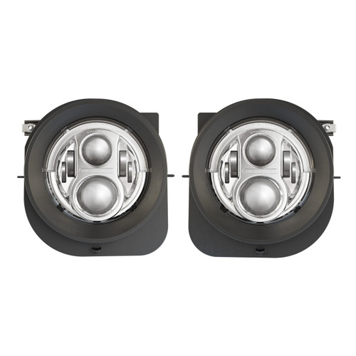 2015 -2017 Jeep Renegade Model 8700 Evolution 2R Chrome LED Headlights