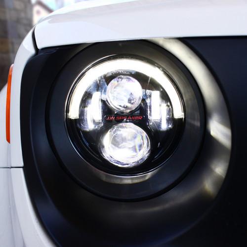 2015 -2017 Jeep Renegade Model 8700 Evolution 2R Black LED Headlights