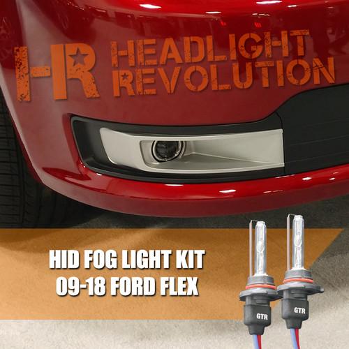2009 - 2018 Ford Flex Fog Lights HID Conversion Kit