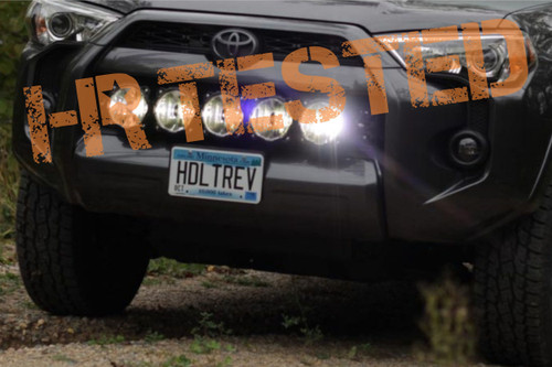 2014 - 2019 Toyota 4Runner KC HiLites Pro6 Lightbar with Brackets