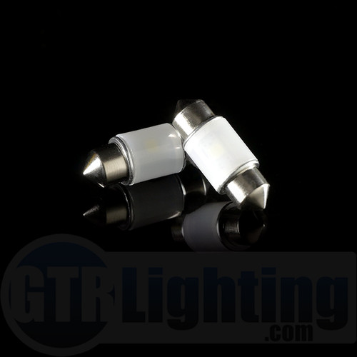 GTR Lighting 31mm 360 Degree Festoon LED Bulbs