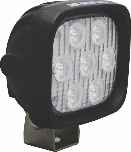 "Vision X UTILITY MARKET 4"" Square Amber Elliptical Industrial Work Light"