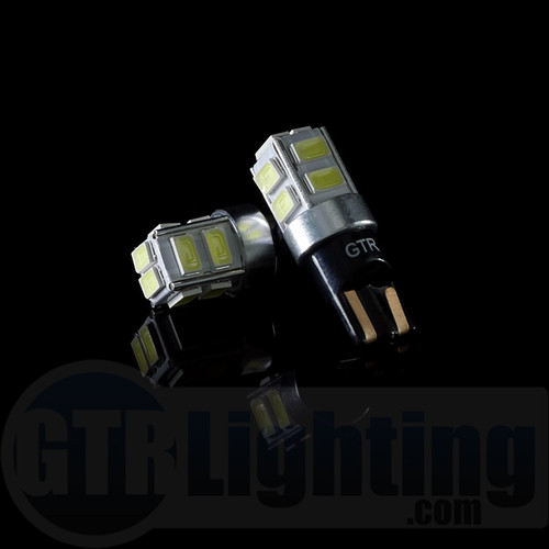 GTR Lighting T10 / 194 / 168 CANBUS LED Bulbs 10-Chips